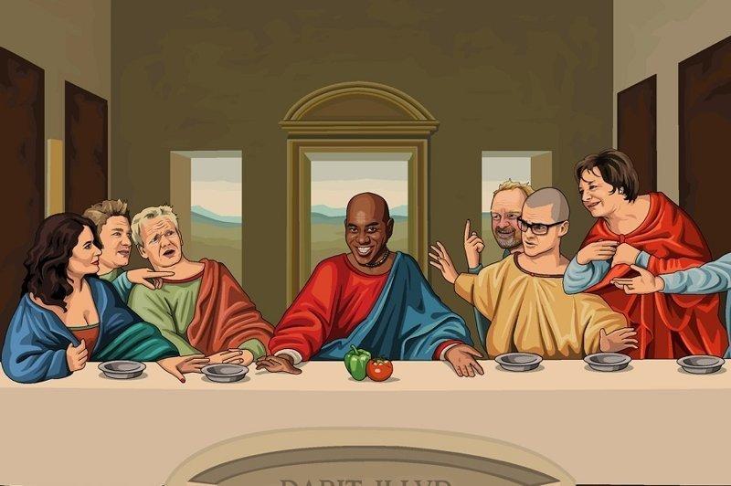 Jim'll Paint It: Бредовые рисунки на заказ в блоге британского художника (30фото)