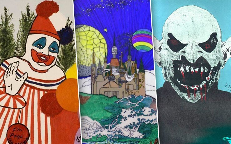 Картины, нарисованные серийными убийцами (11фото)