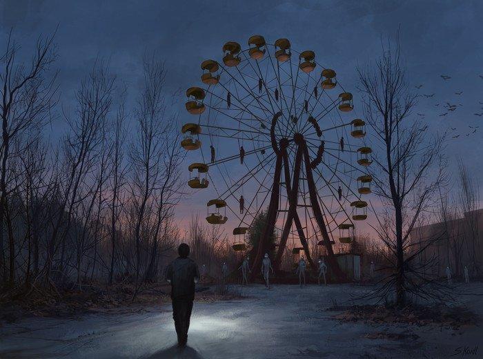 Чернобыльская история ужасов (10фото)