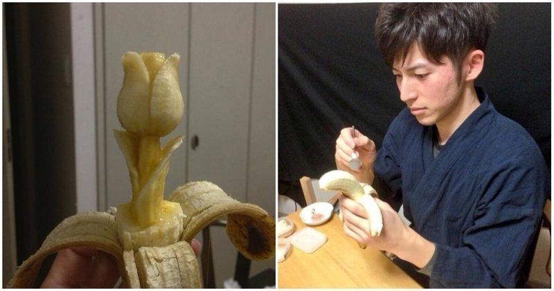 Художественная резьба на бананах (30фото)