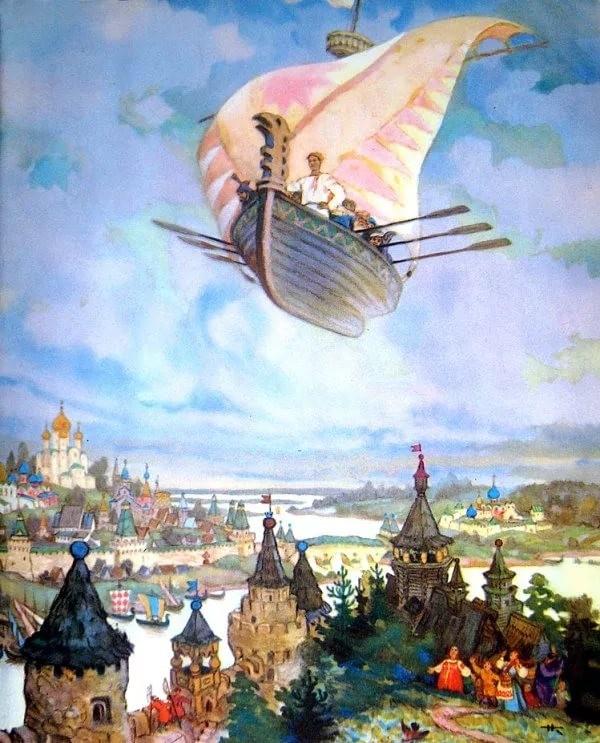 Чтобы помнили. Русские волшебные сказки в иллюстрациях художника Н.М. Кочергина (26фото)