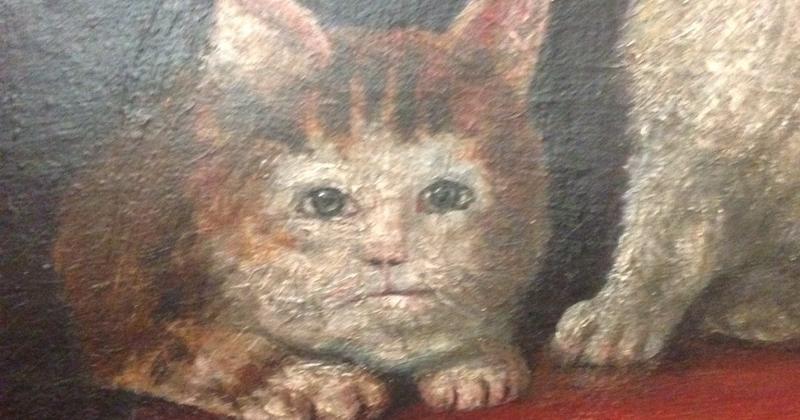 А вы замечали, какими уродливыми изображали котиков художники Средневековья? (35фото)