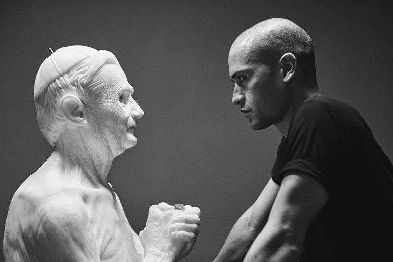 Современный Микеланджело: реалистичные работы скульптора-самоучки (29фото)