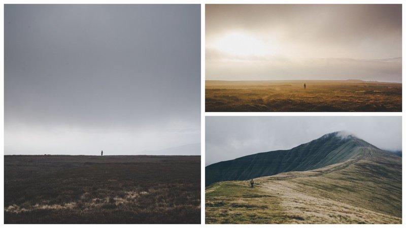 Фотограф-путешественник делает снимки крошечных фигур на фоне пейзажей (21фото)