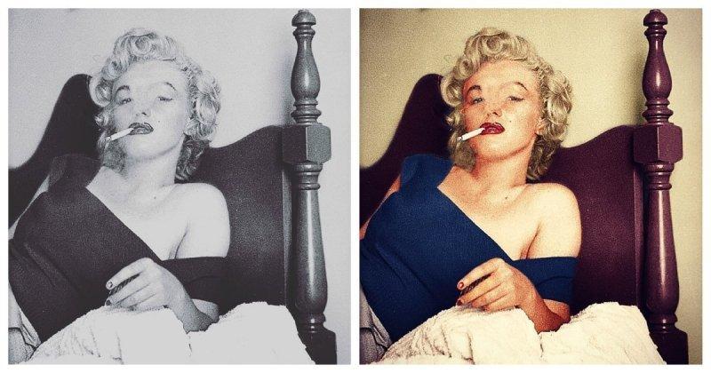 Цифровой художник раскрасил старые чёрно-белые фотографии и показал, как сильно цвет меняет снимки (22 фото)