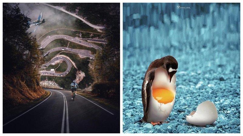 Иранский художник создает сюрреалистичные миры с помощью фотошопа (38фото)