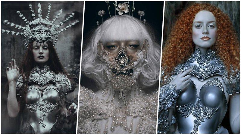 Сказочные мотивы, роскошь и готика в костюмах польского художника (26фото)
