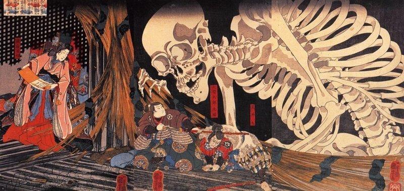 11 иллюстраций японских мифологических персонажей, которые лишат сна даже взрослых (12фото)