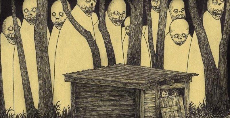 Художник, рисующий кошмары (31фото)