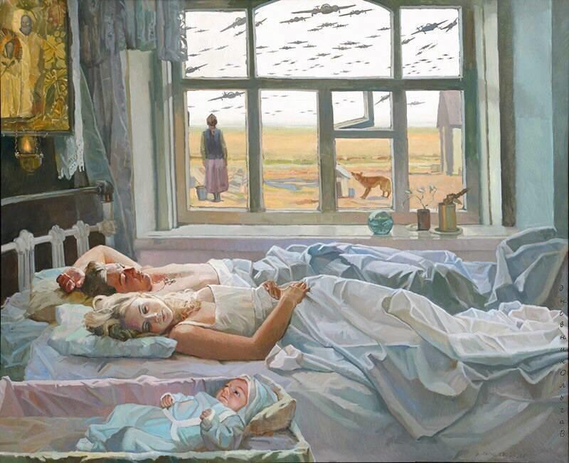 Картины художника Папко Валентина Федоровича (20фото)