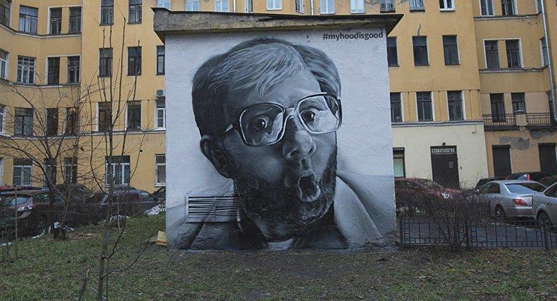 Граффити Санкт-Петербурга (35фото)