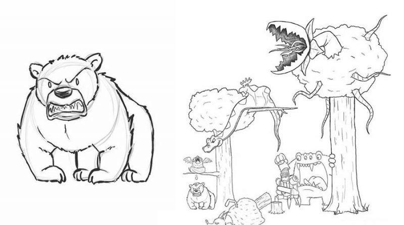 Художник каждый день подрисовывал к своему простенькому комиксу по одному персонажу (20фото)