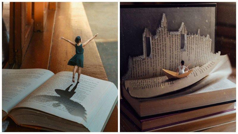 Книги в нашей жизни: фотопроект Катрины Ю (24фото)