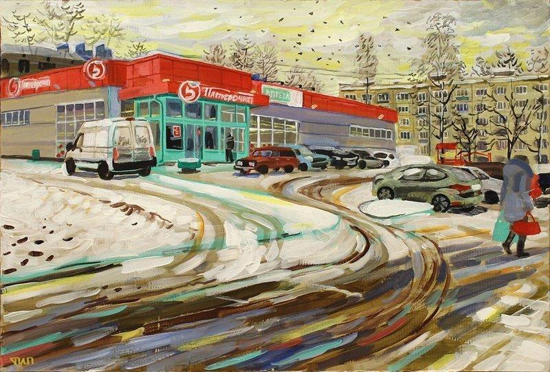 Российская повседневность в картинах современных художников (29фото)