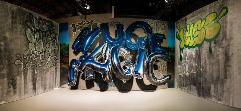 Граффити в виде шаров. И сложно поверить, что в них не гелий (19фото+1видео)