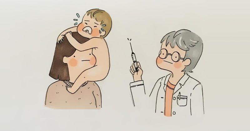 Мама описывает жизнь с ребенком в картинках (41фото)