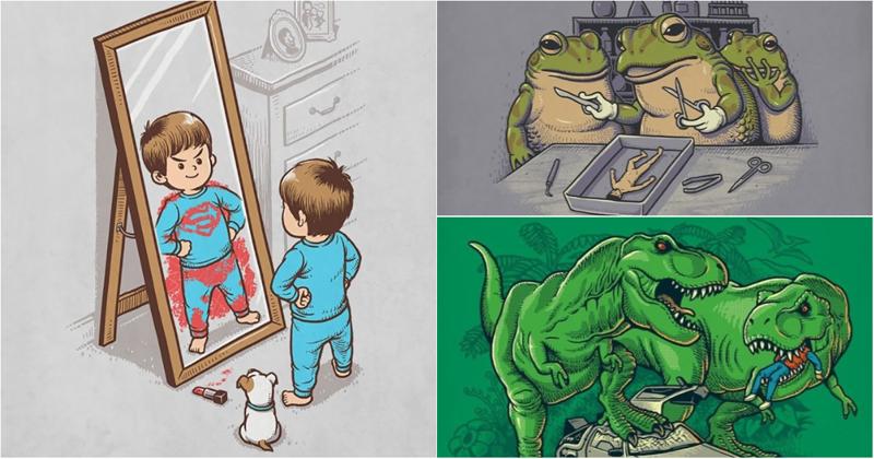65 саркастических иллюстраций, вдохновленных современной поп-культурой (66фото)