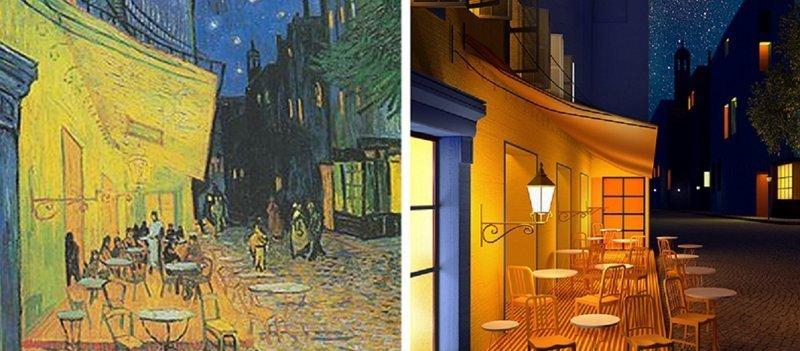 Художница переводит знаменитые картины в 3D (9фото)