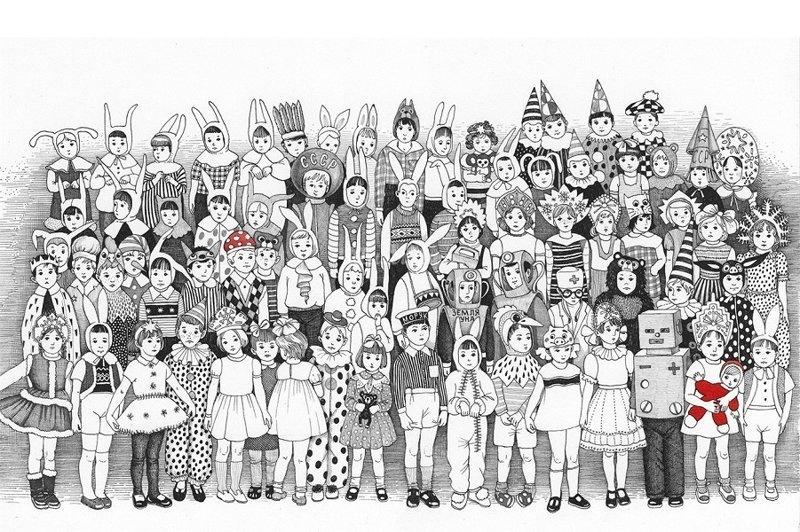 Детство и лето в иллюстрациях Светы Дорошевой (20фото)
