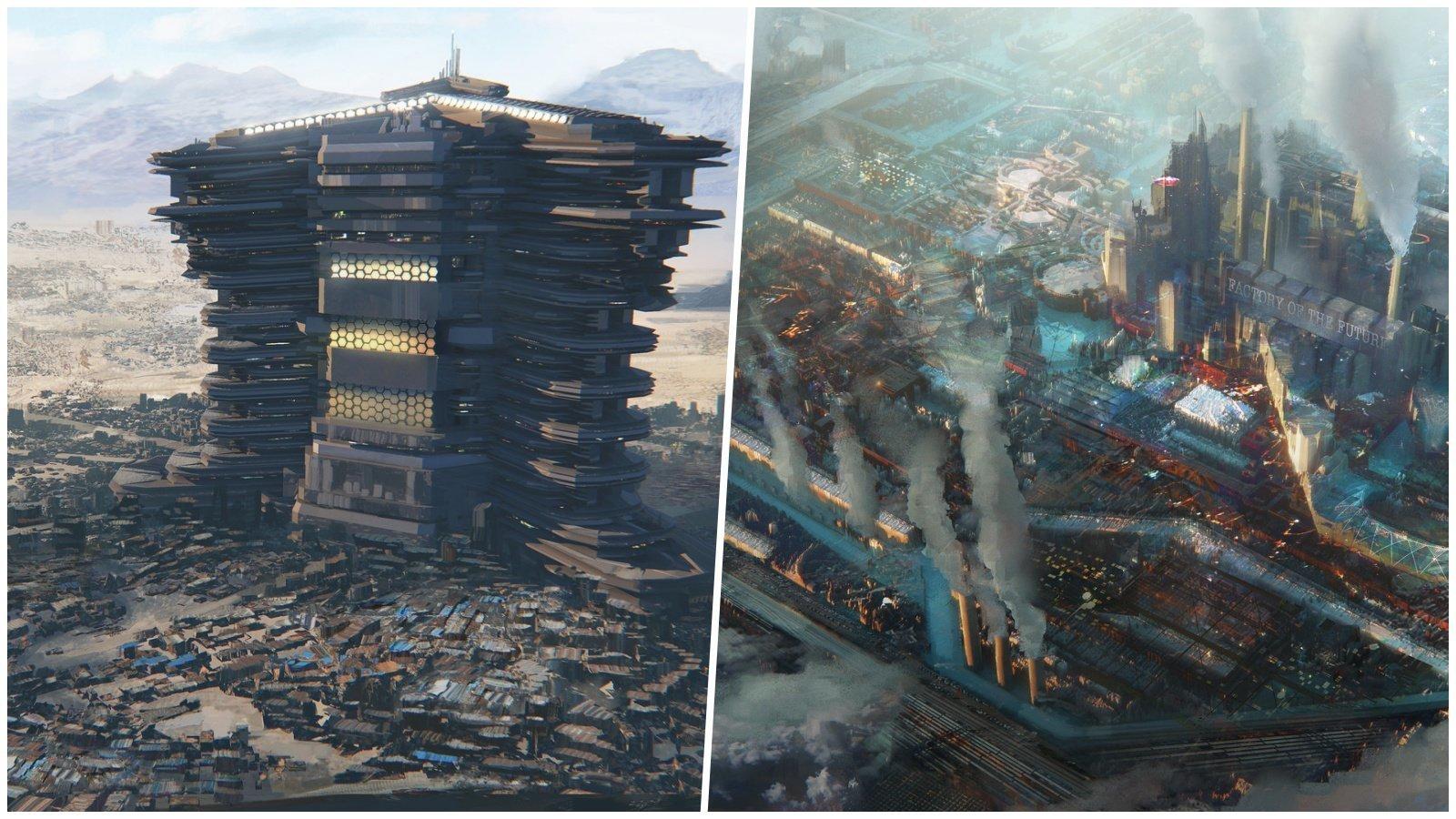 27 честных иллюстраций, которые показывают как могут выглядеть города будущего (28фото)