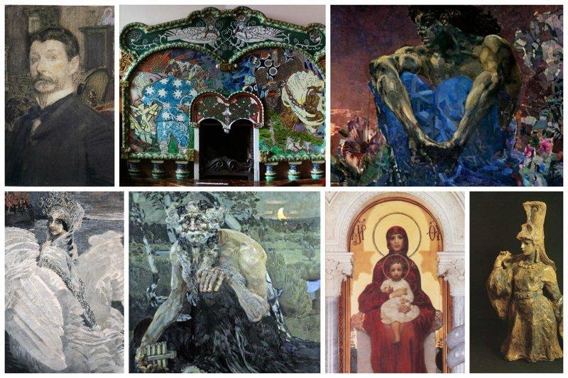 Великие имена в искусстве. Демоны Врубеля от которых мороз по коже (31фото)