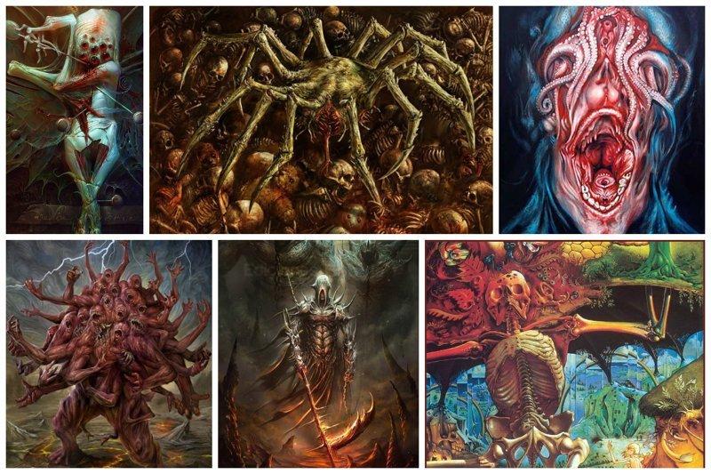 Центр современного искусства ужасов (30фото)