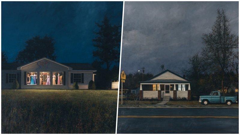 Реалистичные картины маслом американского художника Фредерика Линдена (21фото)