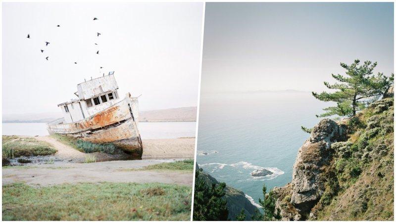Умиротворяющие пейзажи живописного полуострова на Тихоокеанском побережье США (21фото+1видео)