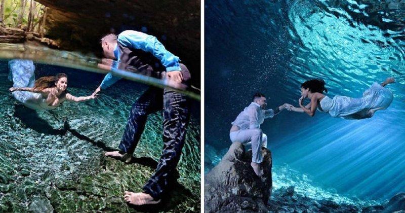 Фотограф снимает водный мир любви (22фото)