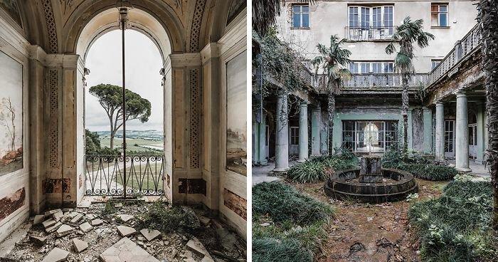 Завораживающие снимки заброшенных мест от Саймона Юнга (18фото)