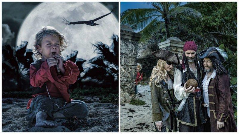 Приключения начинаются: детская фотокнига про пиратов Карибского моря (31фото)