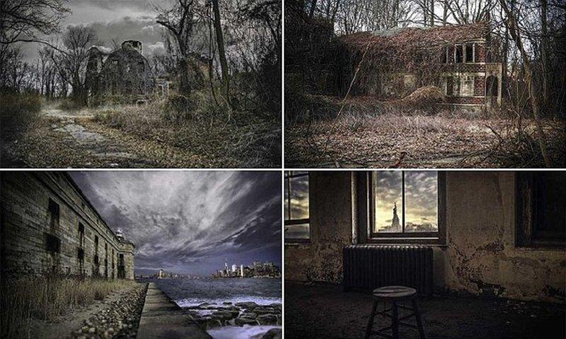 Фотограф раскрывает темную сторону Нью-Йорка (18фото)