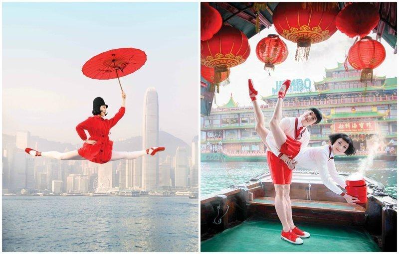 Рекламные плакаты Гонконгского балета к новому сезону произвели фурор (9фото)