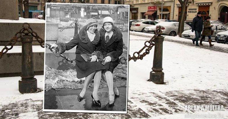 Путешествие во времени: фотограф соединяет в снимках прошлое и настоящее (44фото)