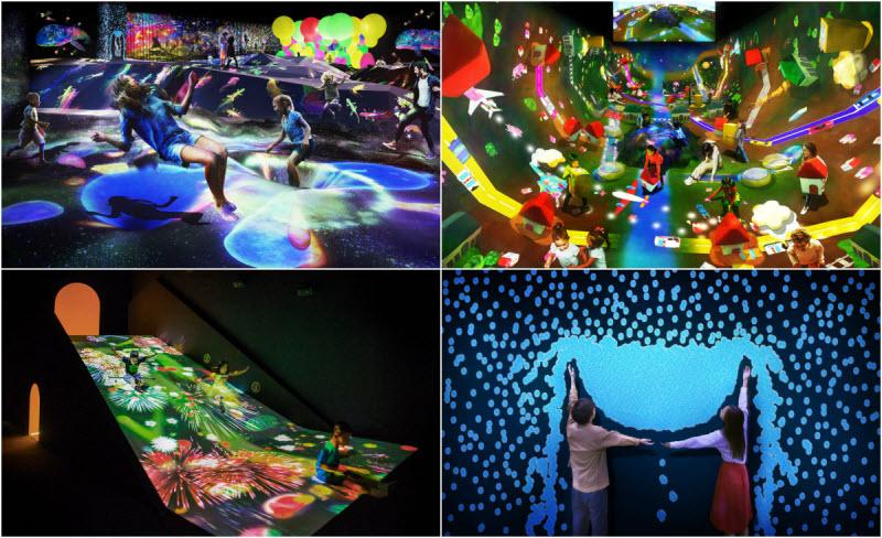 Новаторский музей цифрового искусства в Токио (19 фото)