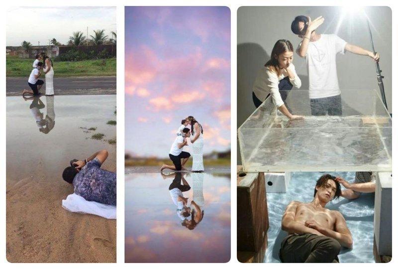 18 наглядных доказательств, что фотографы - величайшие обманщики на свете (19фото)