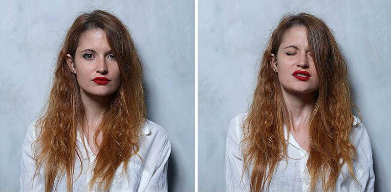 Бразильский фотограф снял женщин до, во время и после оргазма (23 фото)