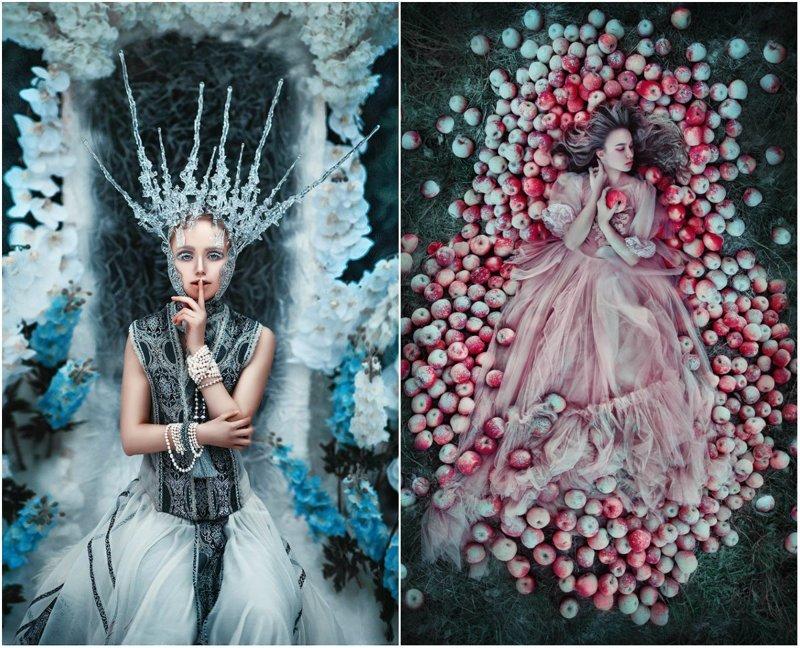 Лесные принцессы и русалки: пермский фотограф снимает сказочных красавиц в лесах Прикамья (29фото)