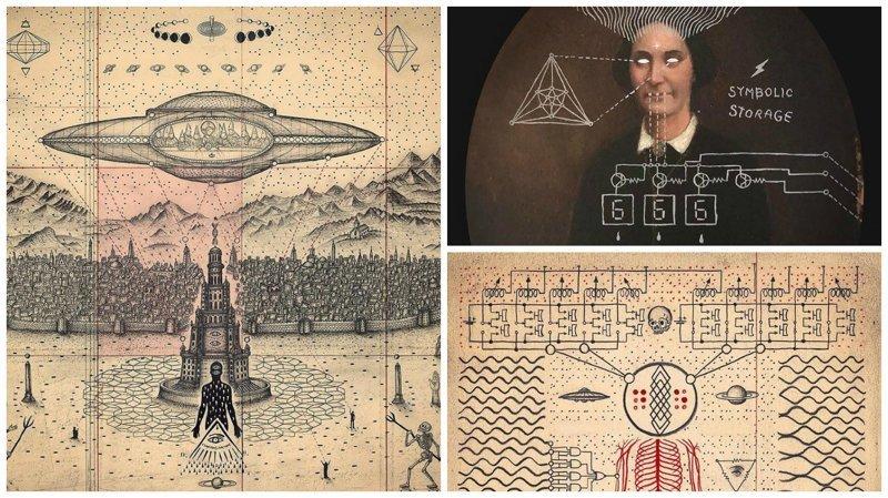 Слияние искусства, науки и мистики в работах Даниэля Мартина Диаса (55фото)