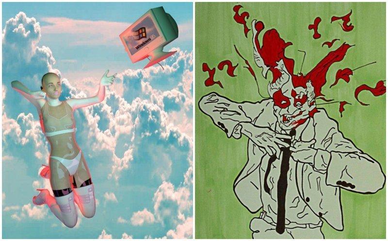 15 психоделических произведений искусства, от которых вам станет не по себе (16фото)
