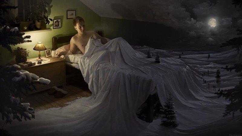 Работы фотографа-сюрреалиста Эрика Йоханссона (10фото)