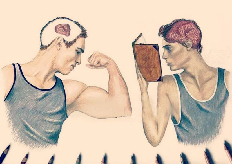 Простые иллюстрации,которые показывают, что у людей в голове и почему они такие разные (20фото)