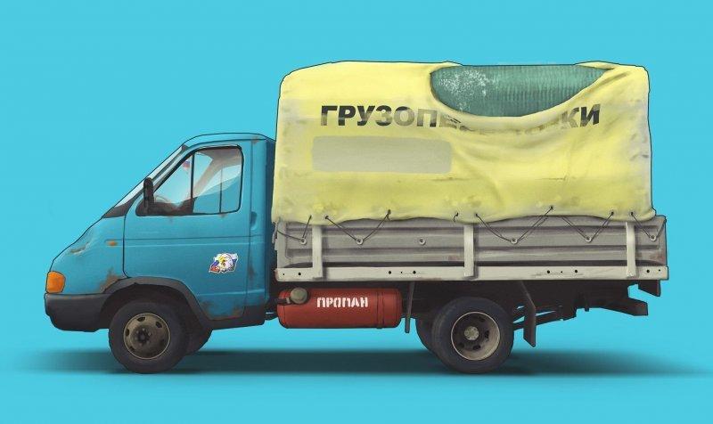 Крутые арты российских автомобилей с душой (10фото)