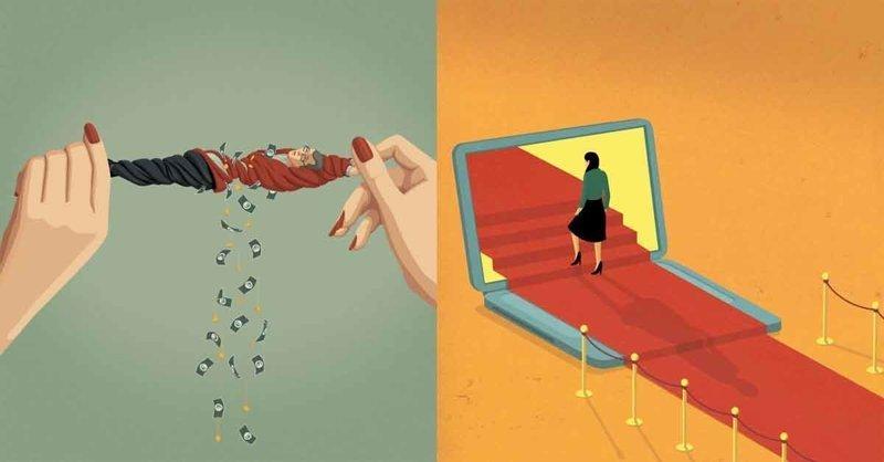 Жесткие иллюстрации, срывающие маски с общества, в которым мы живем (21фото)