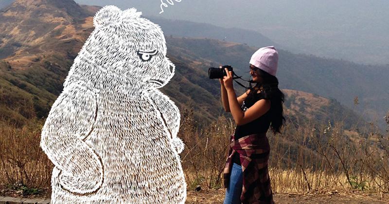 Когда вам скучно, дорисовывайте фотографии своих друзей! (21фото)