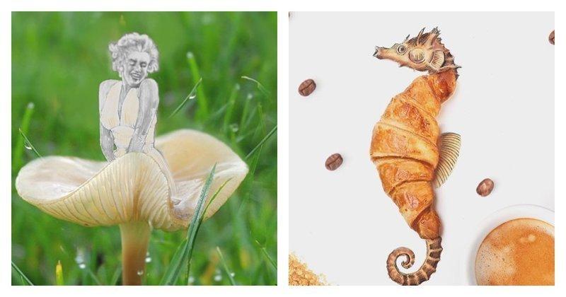 40 прикольных иллюстраций от Диего Кузано с использованием повседневных вещей (41фото)