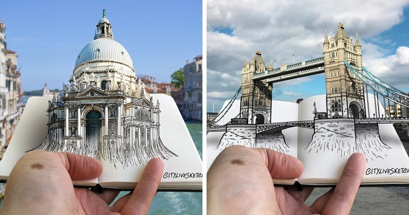 Итальянский художник создает новую географию впечатлений (23фото)