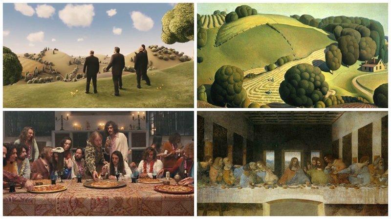 Film Meets Art: 25 кинокадров, повторивших картины известных художников (26фото)