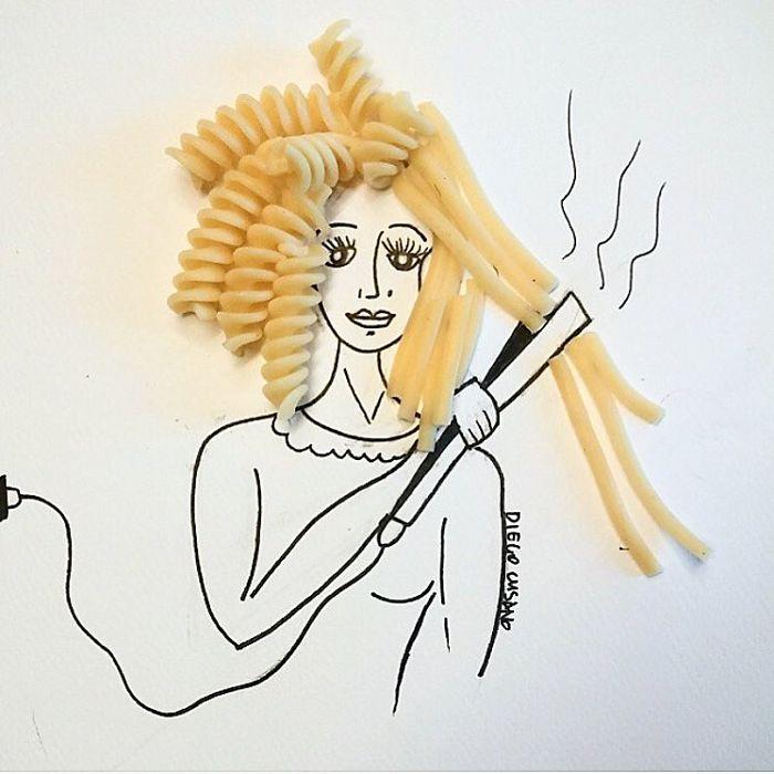 Художник превращает обычные предметы в умные иллюстрации, и вам захочется их рассмотреть (20 фото)