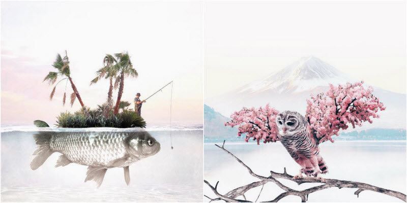 Сюрреалистические фотоманипуляции Луизы Азеведо (26 фото)